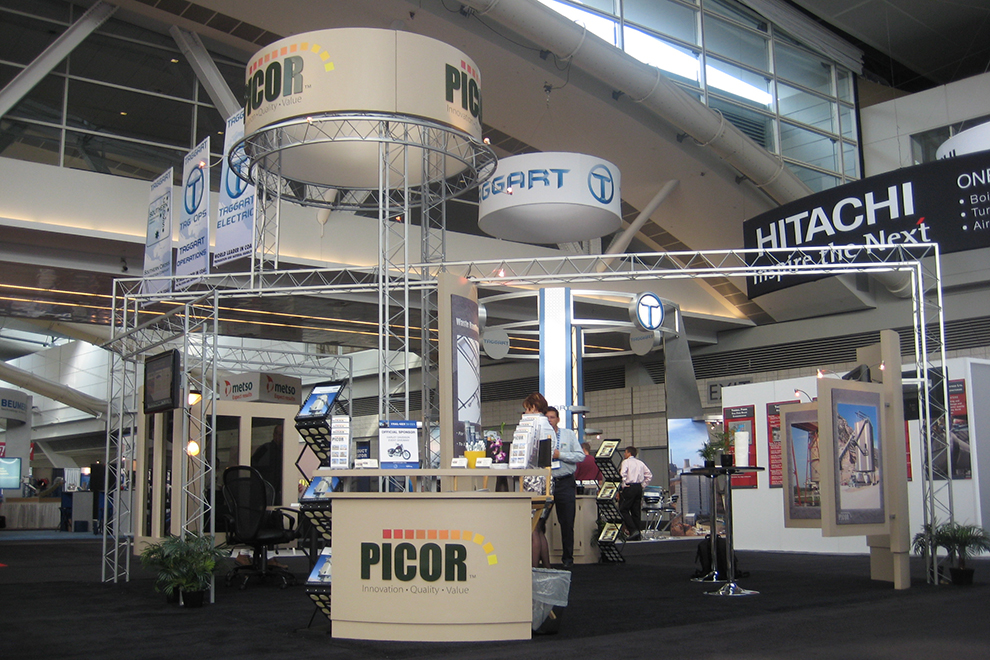 Picor Tradeshow Display