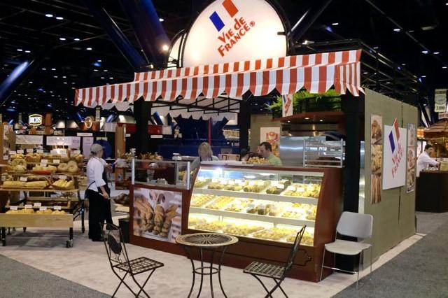 Vie De France booth
