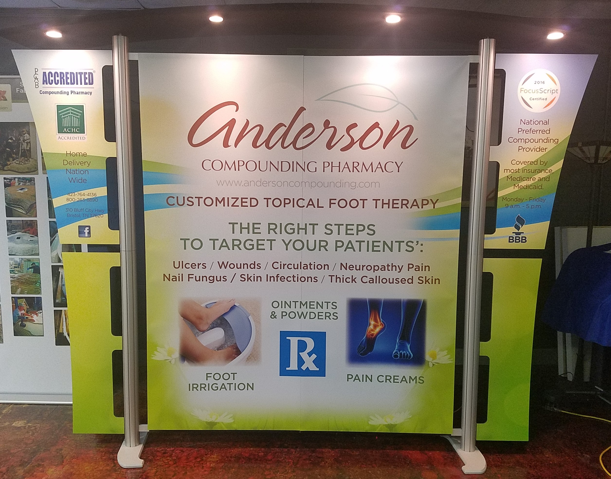Anderson Pharmacy Essyx Exhibits Amp Displays